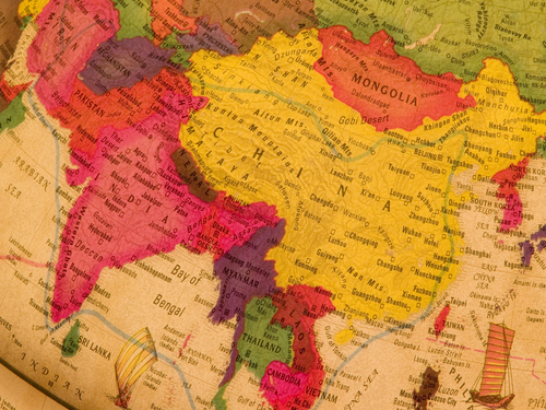 Working Overseas_China Map
